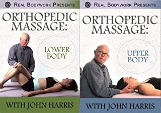 Orthopedic Massage for the Upper & Lower Body Video 2 DVD Set - Learn Assessment, Trigger Points, Referral Patterns and Treatment Techniques for Neck, Back, Hip, Knee, Ankle, Shoulder, Elbow, Wrist Injuries