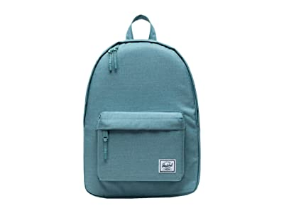 Herschel Supply Co. Classic Mid-Volume (Oil Blue Crosshatch) Backpack Bags