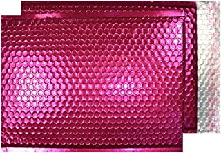 Purely Packaging C4+ 324x230 Peel and Seal Padded Envelopes - Metallic Pink (Pack of 100)
