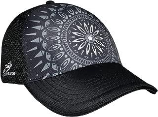 Headsweats Black Haze 5-Panel Trucker Hat,  Black,  One Size