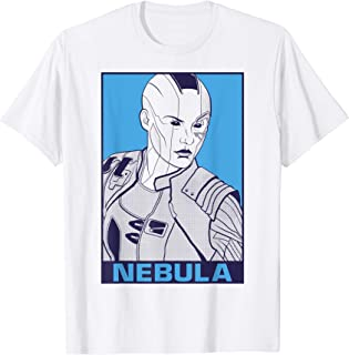 Marvel Avengers Endgame Nebula Pop Art T-Shirt
