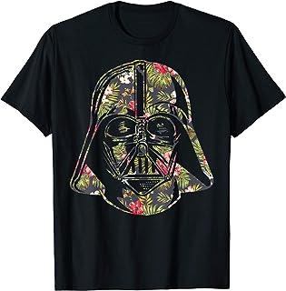 Darth Vader Floral Tropical Hawaiian Flower Bouquet T-Shirt T-Shirt