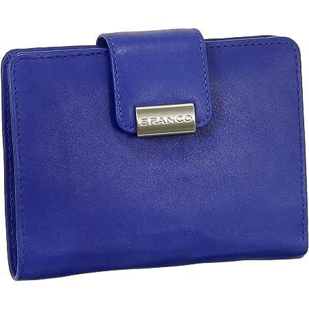 Luxus Leder Damen Geldbörse Portemonnaie Geldbeutel XXL mit Druckknopf 10 cm vers. Farben
