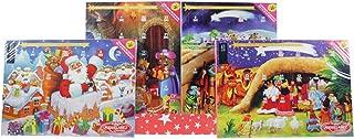 Miguelañez - Calendario de Adviento con Chocolatinas de Chocolate - Temática Navidad - 1 Calendario de 75 g (24 Chocolatinas)