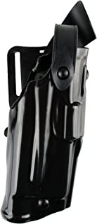 Safariland 6360 Level 3 Retention ALS Duty Holster, Mid-Ride, Black, STX High Gloss, Glock 22 with M3