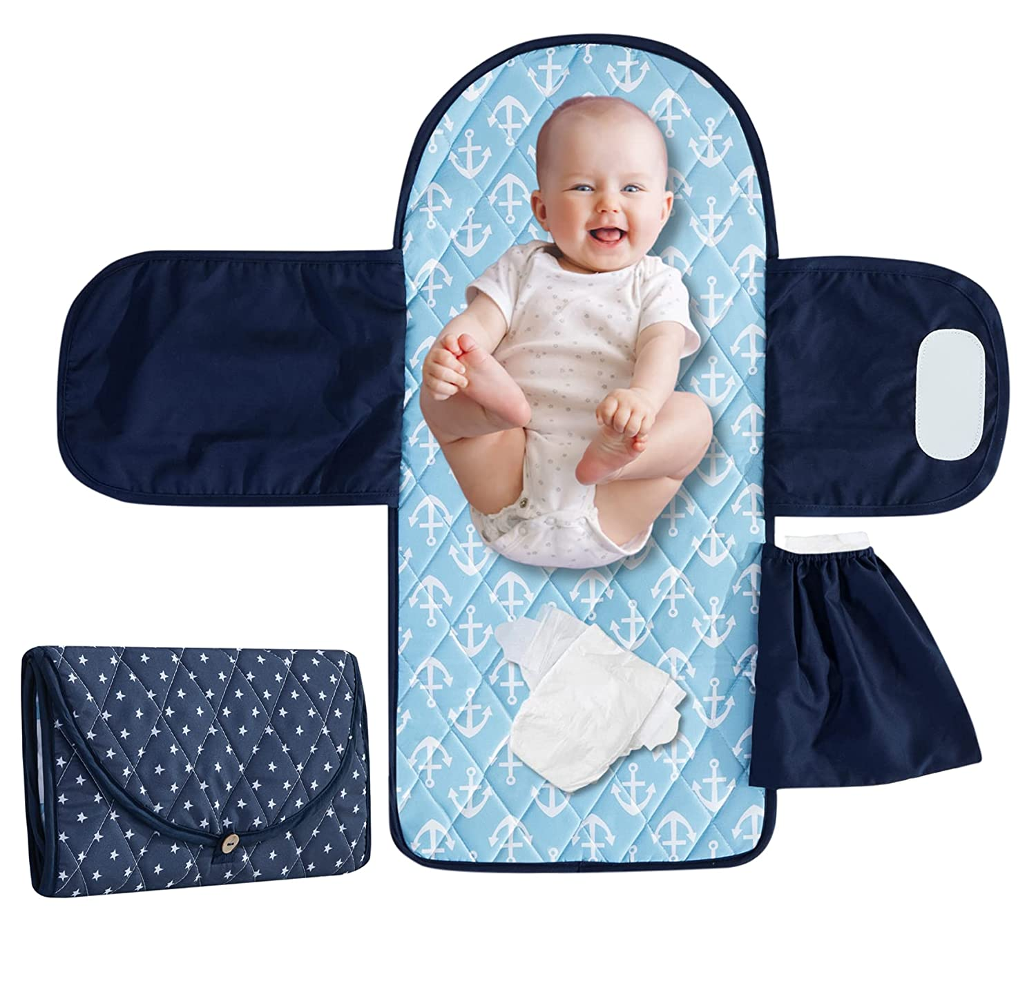 Baby Special price for Ranking TOP4 a limited time Portable Changing Pad Waterproof Soft