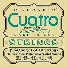 D'Addario J96 Cuatro-Puerto Rico Set