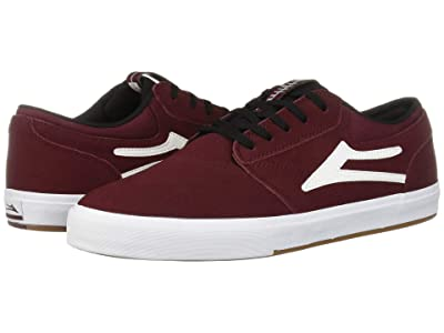 Lakai Griffin (Burgundy/Black Suede) Men