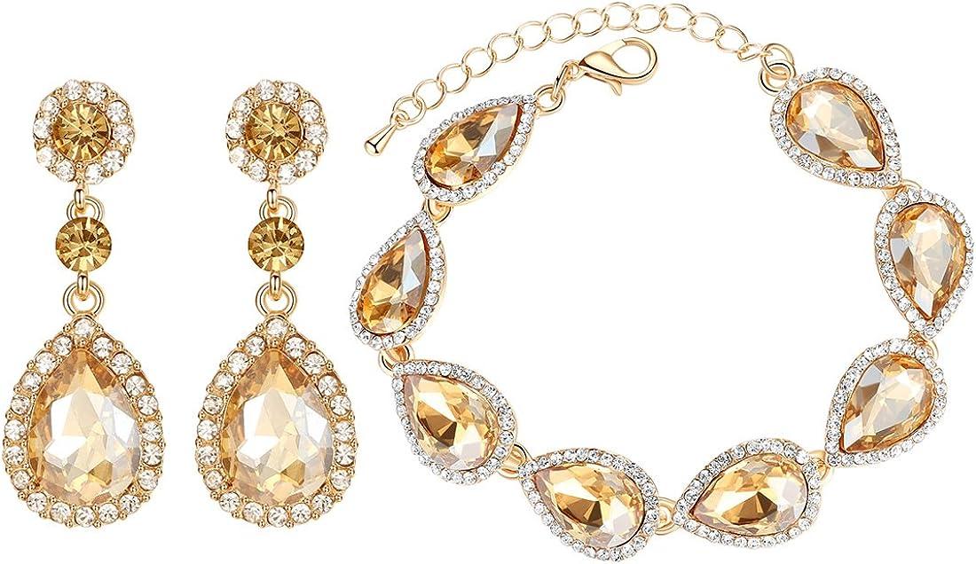 mecresh Cheap Flower Teardrop Earring and Gold Ranking TOP10 Champa Silver Bracelets
