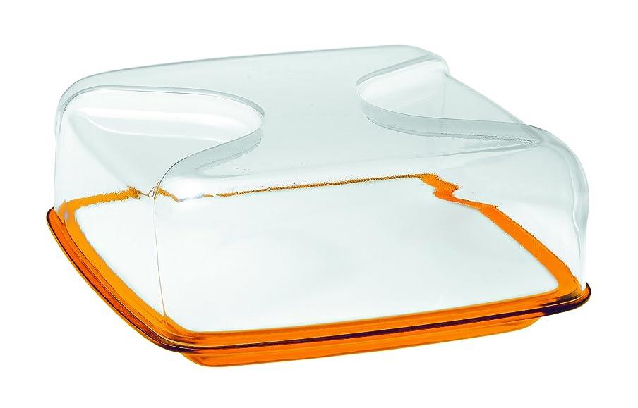ストレッチホイスト借りるguzzini BOLLI カッティングボード&ドーム L オレンジ 270000.45