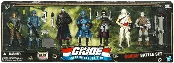 G.I. JOE Hasbro Resolute 3 3/4 Cobra Action Figure Collector 7Pack Set