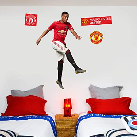 Man Utd Decals Manchester United FC Anthony Martial Shooting Wall Sticker