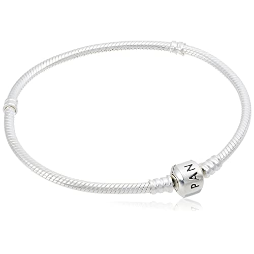 0c58f3888 PANDORA Women's Iconic Standard 925 Sterling Silver Charm Bracelet 590702HV