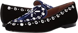Embellished Velvet Loafer