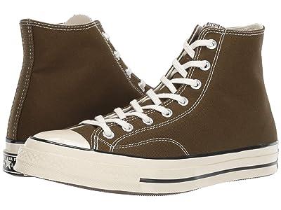 Converse Chuck 70 Vintage Canvas Hi (Surplus Olive/Olive Flak/Egret) Classic Shoes