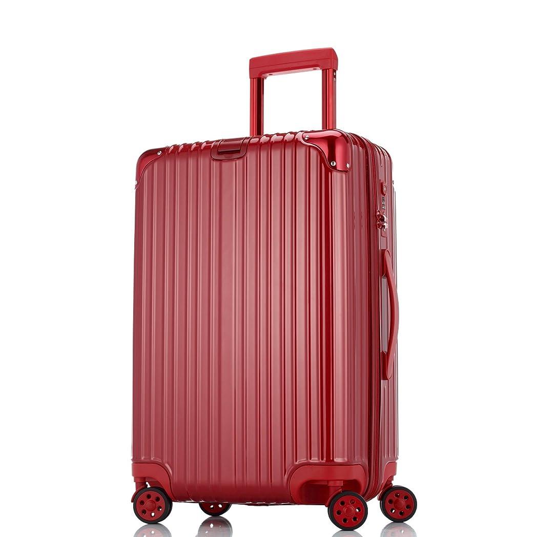 講師積分特殊Totell スーツケース TSAロック搭載 キャリーケース 超軽量 ファスナー開閉式 トランク 旅行 出張 静音8輪 s型 キャリーバッグ 機内持込