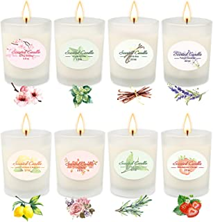 Sponsored Ad - Candles,Christmas Gifts for Family, Candles for Home Scented , Handmade Soy Wax Candle , Aromatherapy Set f...