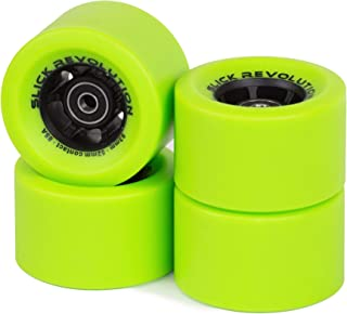 Slick Revolution Electric Skateboard Wheels   Slick 83mm   85 and 78A Urethane Compound   Revolutionise Your Ride