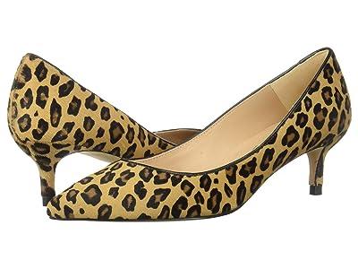 L.K. Bennett Audrey (Natural Leopard Haircalf) Women