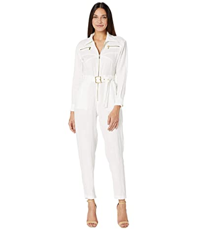 We Wore What Utility Jumpsuit (White) Women