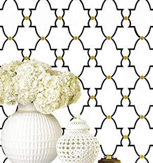 Best navy blue and gold wallpaper Reviews