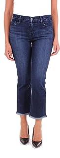 J brand Women's JB001668BLUE Blue Cotton Jeans