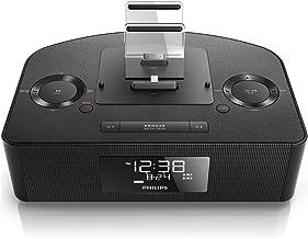 Philips AJ7260D/37 Dual Dock Triple Charging Clock Radio (Renewed)