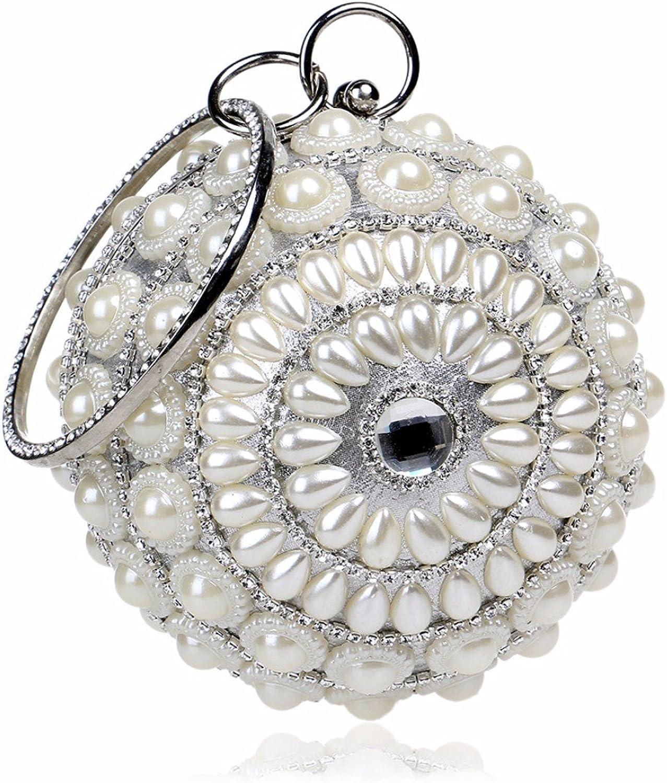 XJTNLB The New Pearl Girl Bag, The Night Shop Lady, The Handbag, The Star, The Same Evening Dress Bag,Silvery