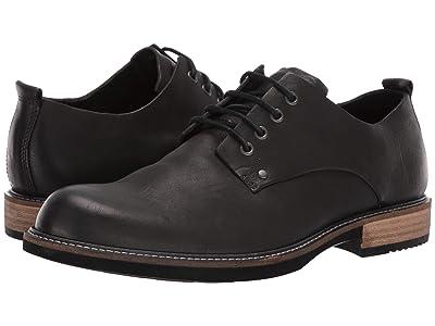 ECCO Kenton Artisan Plain Toe Tie (Black) Men