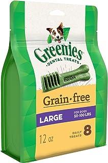 Greenies Grain Free Dental Treats for Large Dog 340 g, 12 oz