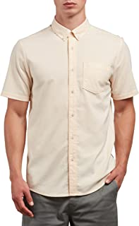 Volcom Men's Everett Oxford Short Sleeve Shirt