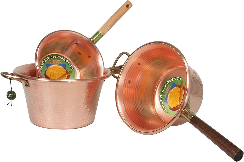 LAR Kessel in Kupfer Kupfer Kupfer Marke Griff Single Holz d. 22 cm Kochtopf Polenta B00APW44W8   eine große Vielfalt    Verwendet in der Haltbarkeit    eine breite Palette von Produkten  fbc0ef