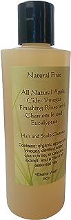 Sponsored Ad - Natural First Organic Apple Cider Vinegar Finishing Rinse w/Chamomile & Eucalyptus 8oz
