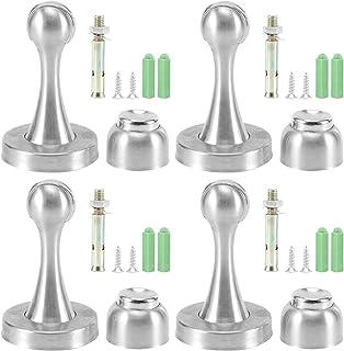 4 STKS Rvs Deurstopper Geschikt voor Thuis Moderne Magnetische Deurstop