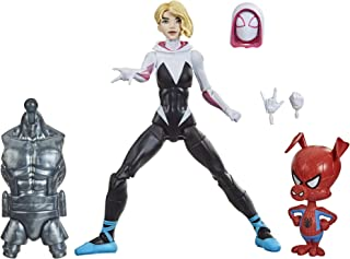 Spider-Man F0255 Hasbro Marvel Legends Series : Into the Spider-Verse Gwen Stacy 6-inch Collectible Action Figure Toy, Wit...