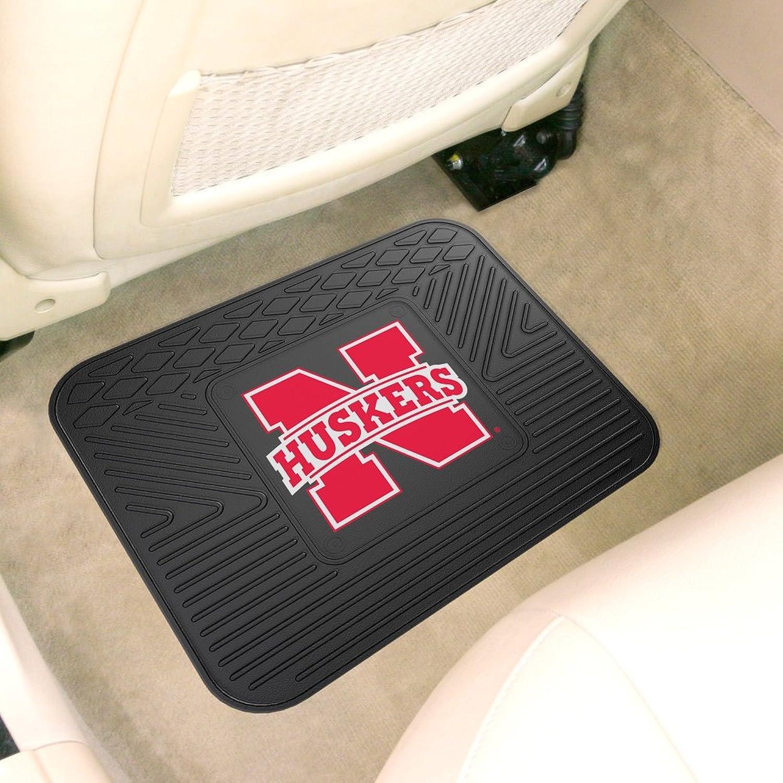 Fanmats Sports Team Logo Design Nebraska Car Backseat Utility Mat