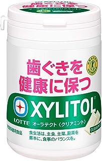 ロッテ キシリトール オーラテクトガム(クリアミント) スリムボトル 125g ×6個