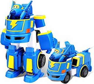 NCTO Super Wings - Super Robot Mini Transforming Toy Vehicle, Transforming Toy Figures, Plane, Car, Bot, for Kids Birthday Gift, 5-8