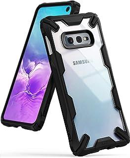 Ringke Samsung Galaxy S10E Mobile Cover Fusion-X Series Ergonomic Shock Absorption Case - Black