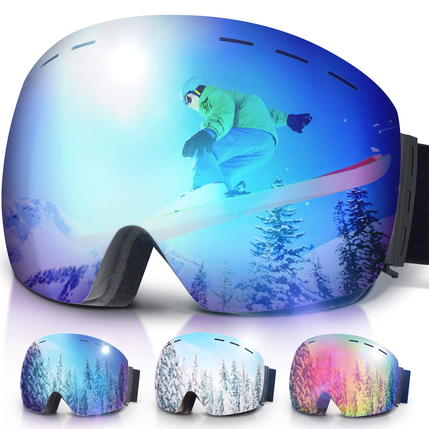 Snowboard Protection Anti Fog Snowmobile Snowboaring