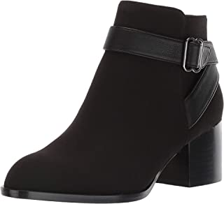 Aerosoles Women's Maggie Ankle Boot, BLACK FABRIC, 8.5