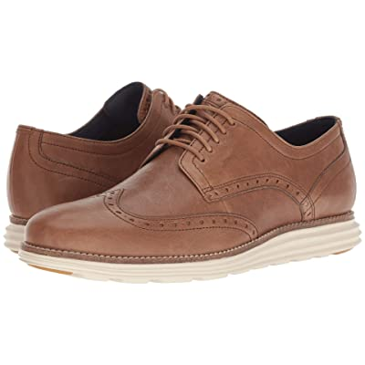 Cole Haan Original Grand Wingtip Oxford (Dogwood Leather/Ivory) Men