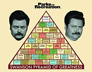 parks and rec swanson pyramid of greatness