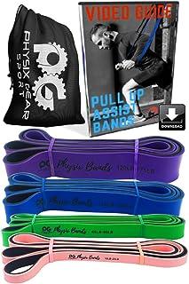 Pull Up Assistance Bands - Best Resistance Loop Bands Set...