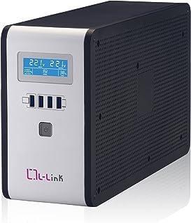 L-Link SAI 2000VA Interactive - Sistema de alimentación con Display LCD, Color Negro…