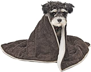 PAWZ Road Dog Blanket Fluffy Skin-Friendly and Warm,Double-Sided,No Shedding for Dogs Cats and Small Animals Small-Large Size