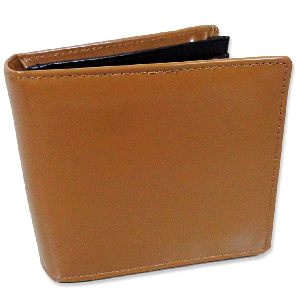 個性矢敬の念牛革 レザー 二つ折り財布