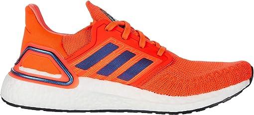 Solar Red/Boost Blue Violet Metallic/Footwear White