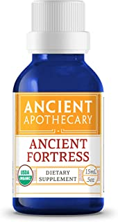 Ancient Fortress Organic Essential Oil from Ancient Apothecary, 15 mL - 100% Pure and Therapeutic Grade