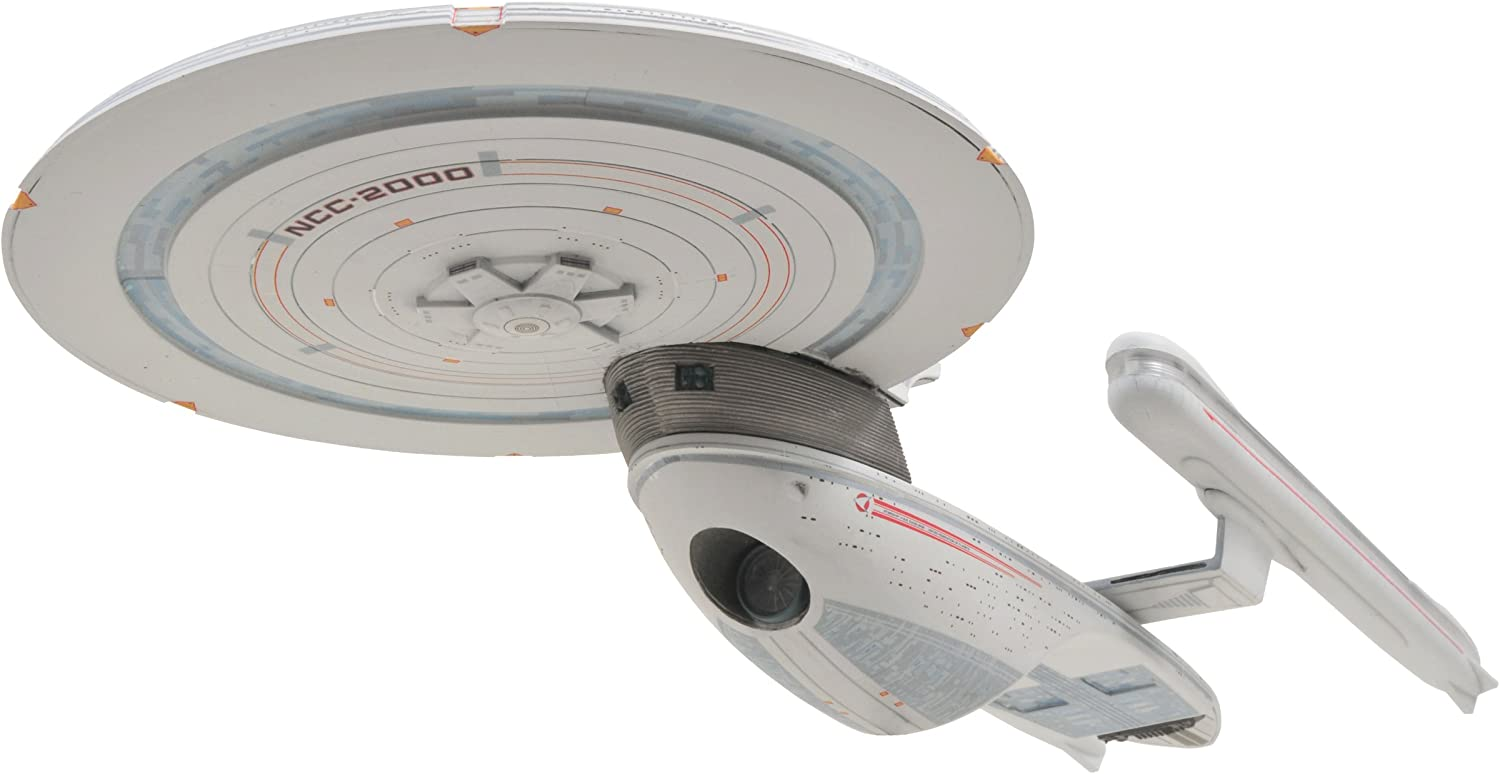 DIAMOND SELECT TOYS Star Trek VI  The Undiscovered Country  U.S.S. Excelsior Electronic Ship